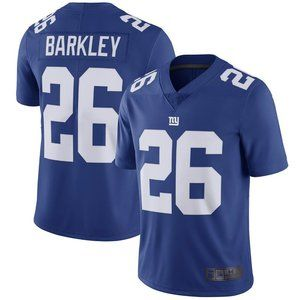 NEW NFL Men's 26# Barkley Nike Blue jersey